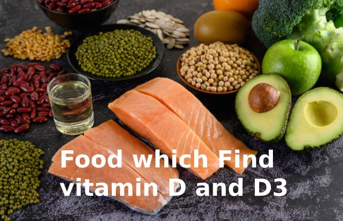 Food which find vitamin D and D3