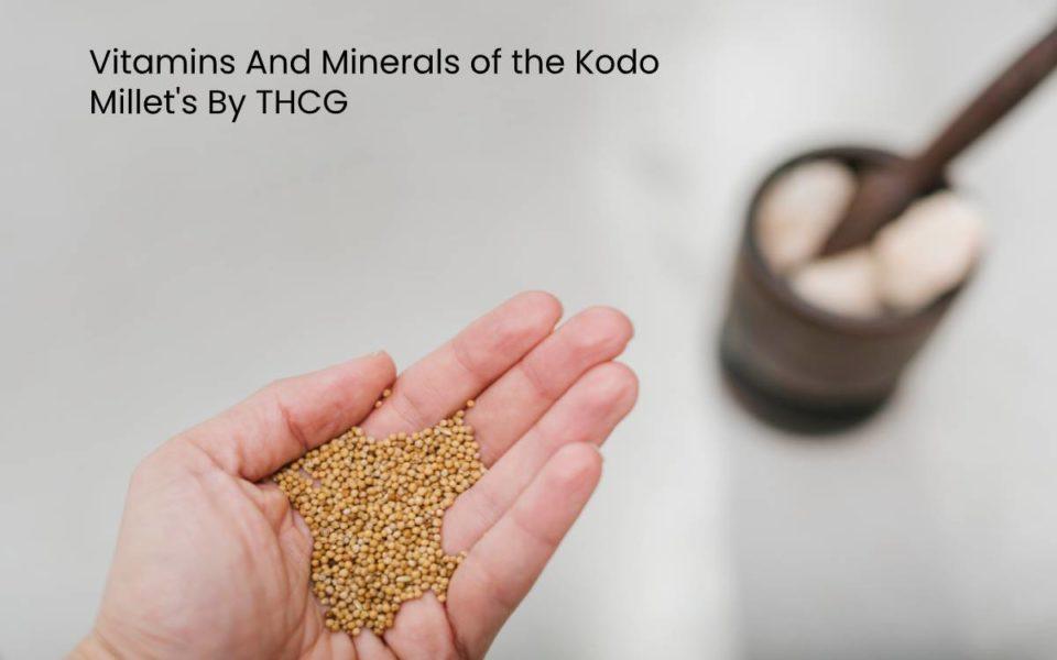 Kodo Millet's
