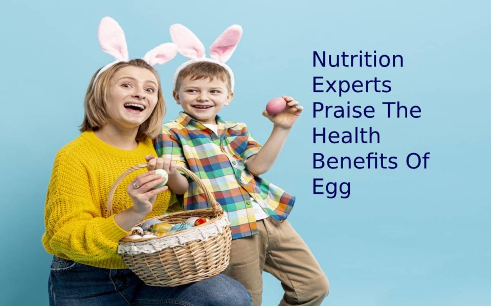 Nutrition experts praise the health benefits of egg
