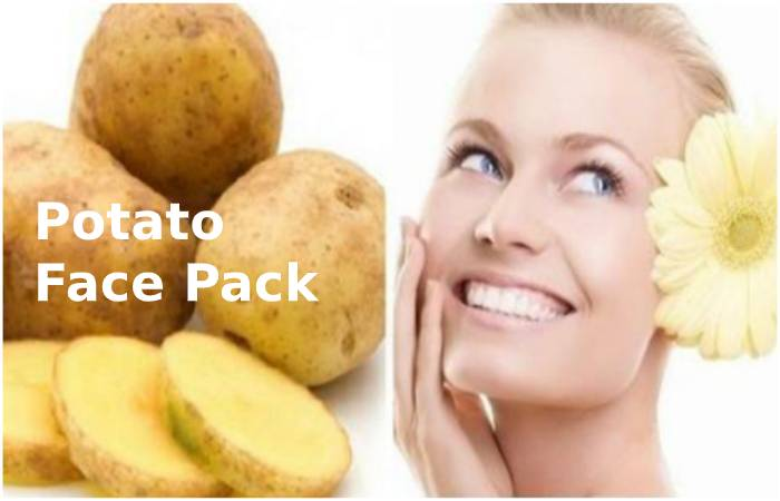 Potato Face Pack