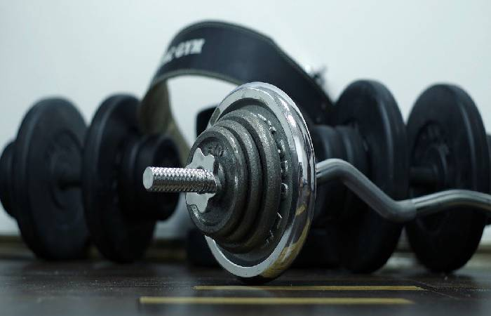 Variable type of dumbbell