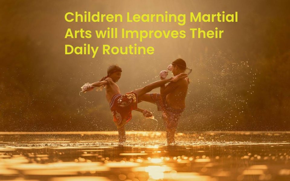 Children Learning Martial Arts will Improves Their Daily Routine