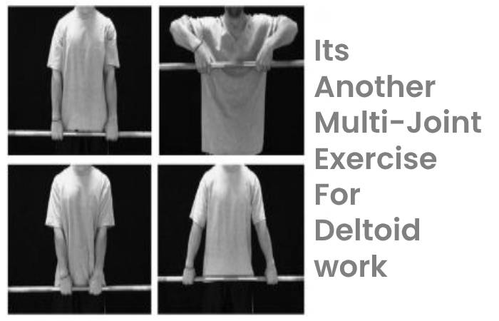 Another multi-joint exercise for deltoid work