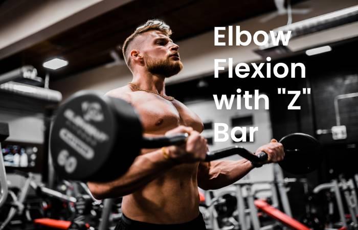 Elbow flexion with Z bar