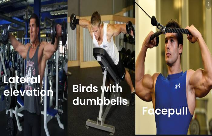 lateral birds face pull