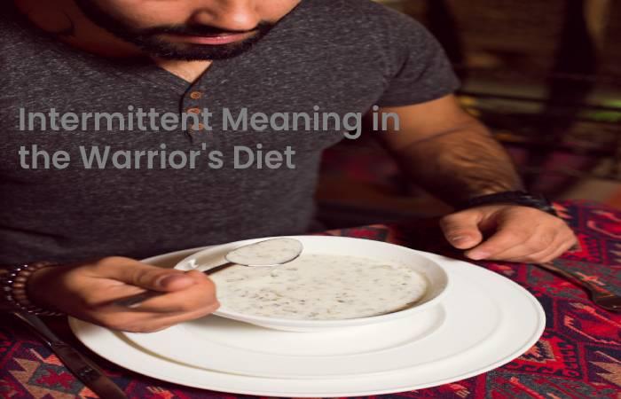 Warriors diet