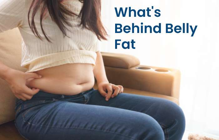 Behind belly Fat