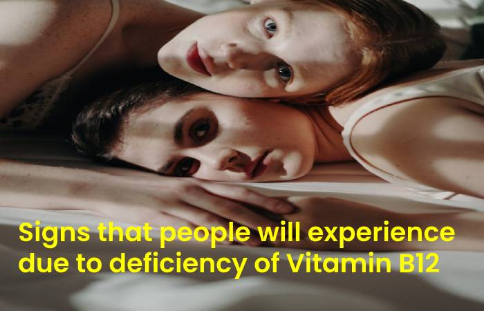 people experience deficiency of Vitamin B12