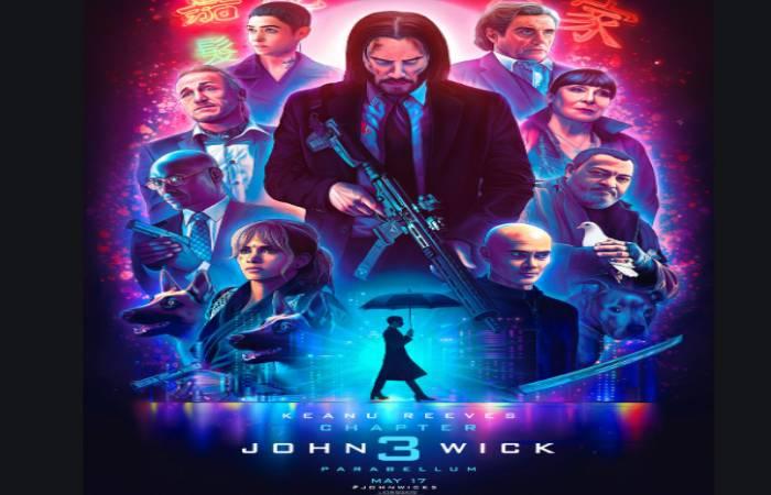 jhon wick 3 poster