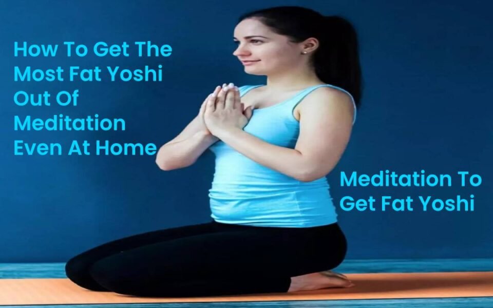 Fat Yoshi Meditation At Home
