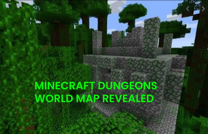 MINECRAFT DUNGEONS WORLD MAP REVEALED