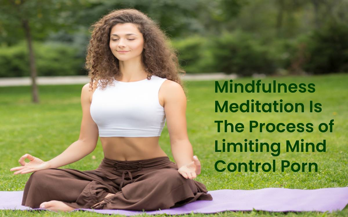 Mindfulness Meditation Is The Process To Limiting Mind