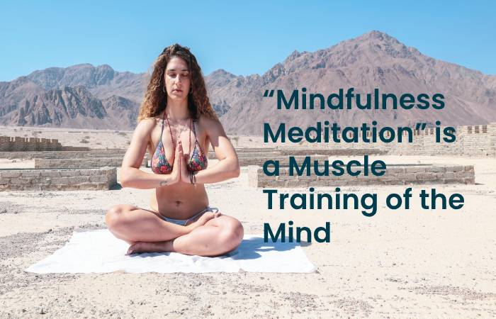 Mindfulness meditation is a muscle training of the mind control porn