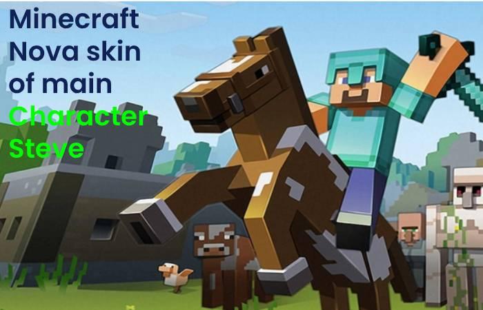 Minecraft Nova skin ofmain Character Steve
