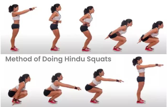 Method of Doing Hindu Squats