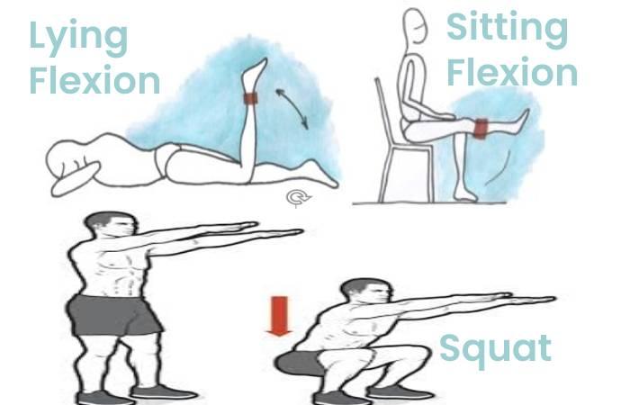 Sitting Lying Squat
