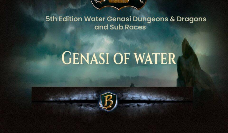 water genasi
